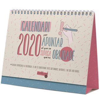 Calendari de sobretaula Finocam 2020 Mes Vista Talkual