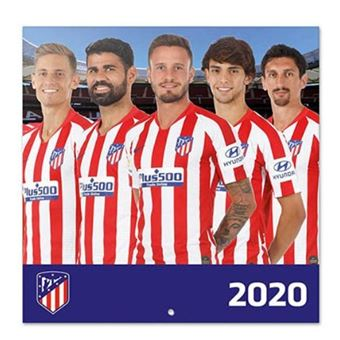 Calendario 2020 Erik Atlético de Madrid 30x30