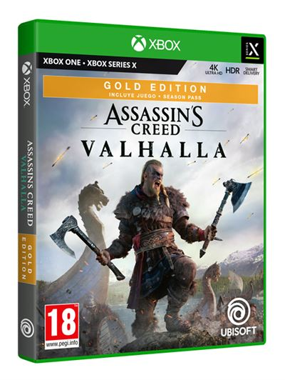 Assassin's Creed Valhalla Gold Edtion Xbox One