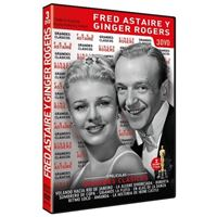 Pack grandes clásicos Fred Astaire y Ginger Rogers - DVD