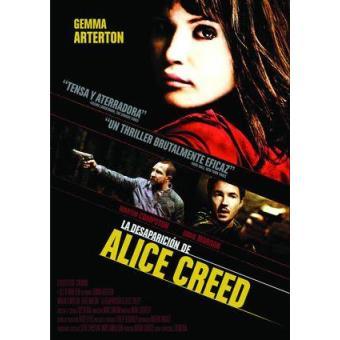 La desaparición de Alice Creed - DVD
