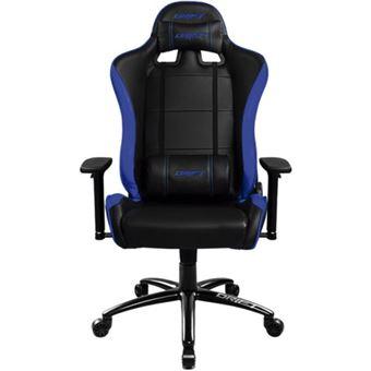 Silla gamer Drift Dr200 negra y azul