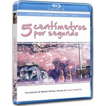 5 centímetros por segundo - Blu-Ray + DVD