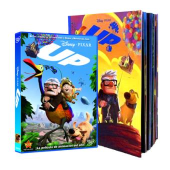 Pack Up + Libro - Exclusiva Fnac - DVD