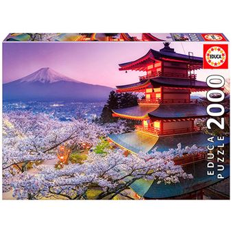 Puzzle Monte Fuji, Japón Educa