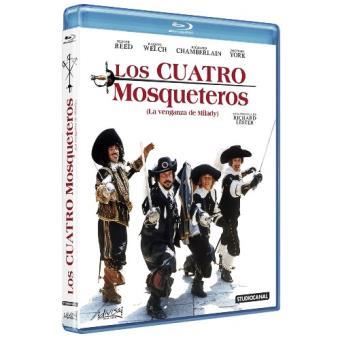 Los cuatro mosqueteros - Blu-Ray