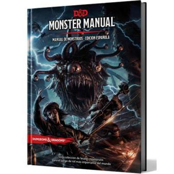 Dungeon and Dragons. Monster Manual. Manual de monstruos