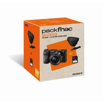 Cámara EVIL Sony A6000 + 16 -50 mm Black pack