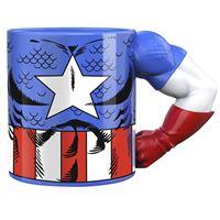 Taza 3D Marvel Vengadores Endgame - Capitán América