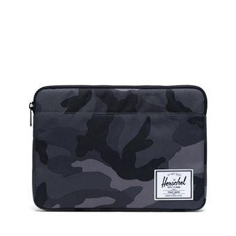 Funda Herschel Anchor Camuflaje Negro para MacBook 13''