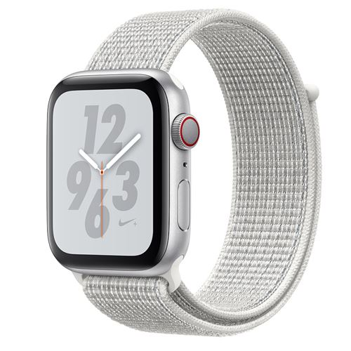 Apple Watch Series 4 Nike+ GPS + Cellular 40mm silver Sport Band pure platinum/black