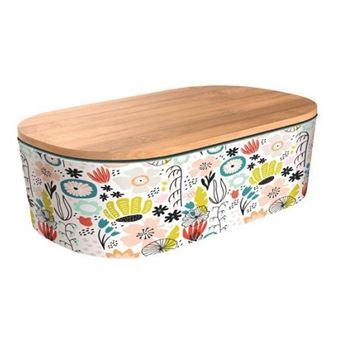 Lunchbox Chic&Mic Bamboo Deluxe Pop Garden