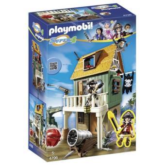Playmobil Super 4 Fuerte pirata camuflado con Ruby