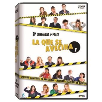 La que se Avecina - 9ª Temporada - 1ª Parte - DVD