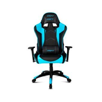 Silla gamer Drift DR300 negra y azul