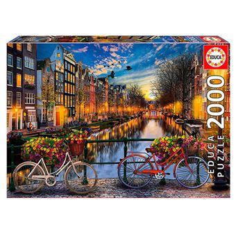 Puzzle Ámsterdam Educa
