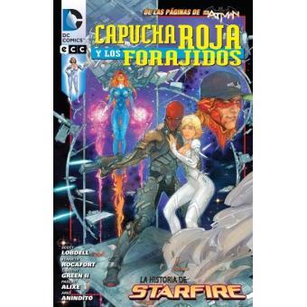 Capucha Roja y los Forajidos: La historia de Starfire