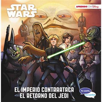 Star Wars El imperio contraataca | El retorno del Jedi Te cuento, me cuentas una historia Disney