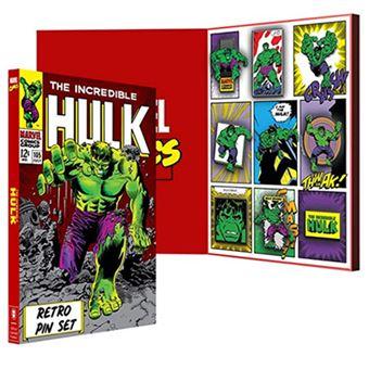 Pack 9 pines Marvel – Hulk retro