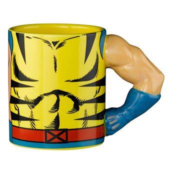 Taza 3D Marvel - Lobezno