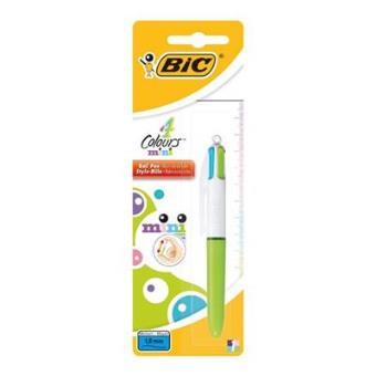 Bolígrafo Bic 4 Colores Mini Fashion