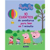 10 cuentos de aventuras para leer en 1 minuto - Peppa Pig. Primeras lecturas