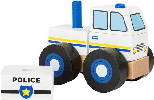 Small Foot Véhicule de construction de voitures de police