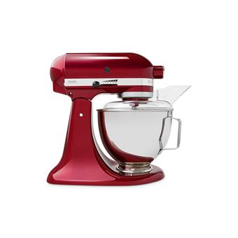 Robot De Cuisine Kitchenaid 5ksm45egd Rouge Fnac