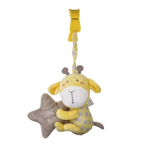 Saro figure suspendue avec hochet et girafe vide vibrante