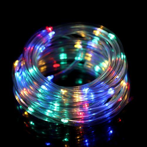 5m 50 LED guirlande fil de cuivre s'allume à piles mode 8 lumière de fée (multicolore)