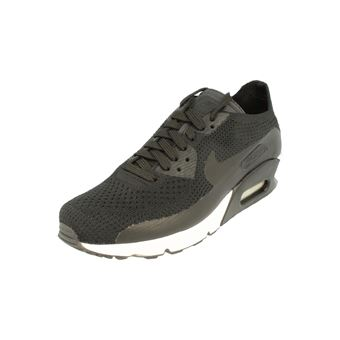 finest selection 27838 23a68 Nike Air Max 90 Ultra 2.0 Flyknit Mens Running Trainers 875943 Sneakers  Shoes (Uk 9 12 Us 10 12 Eu 44 12, Black Black White 004) - Chaussures et  ...