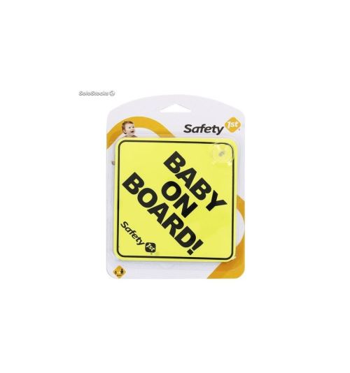SAFETY FIRST-Bebe a bord jaune