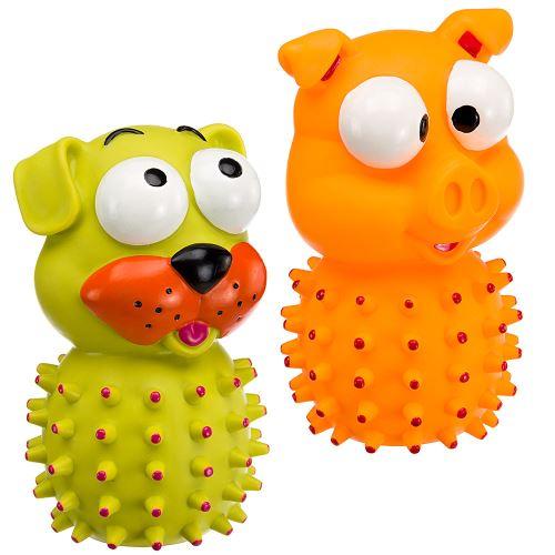 Jouet chiens Ferplast PA 6556 sonore masse les gencives amusant plusieurs couleurs