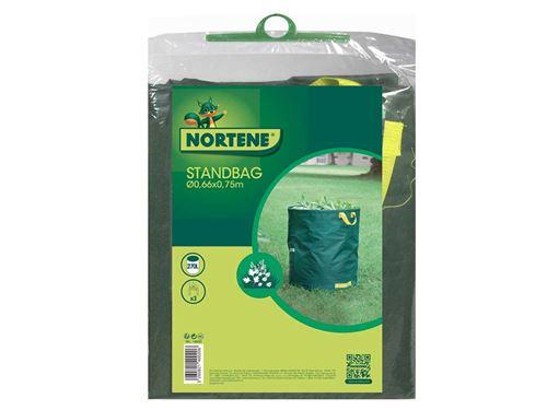 Sac déchets verts autostable avec poignées STANDBAG - Vert - 270 L