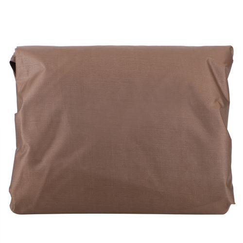Housse de protection pour Table Chaises - Marron