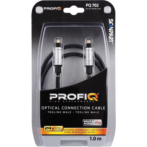 ProfiQ Pq702 Optical 2xtoslink 1.0m
