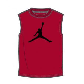 meilleure sélection c618a 0c315 Débardeur de Basketball pour enfant Jordan Core Jumpman Rouge taille 5 ans