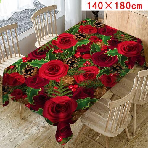Imprimer la Nappe Rectangle Table Cover Holiday Home Party Décor Saint-Valentin_Kiliaadk687