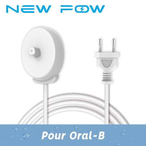 Chargeur de Brosse à Dents Électrique pour Braun Oral-B Pro Series pour XT 3757 Pro 600, 700, 900, 1000, 2500, 3000, 5000, 2000 Cross Action, Oral-B PRO 2 2500