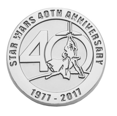 Badge - Star Wars - 40 ans