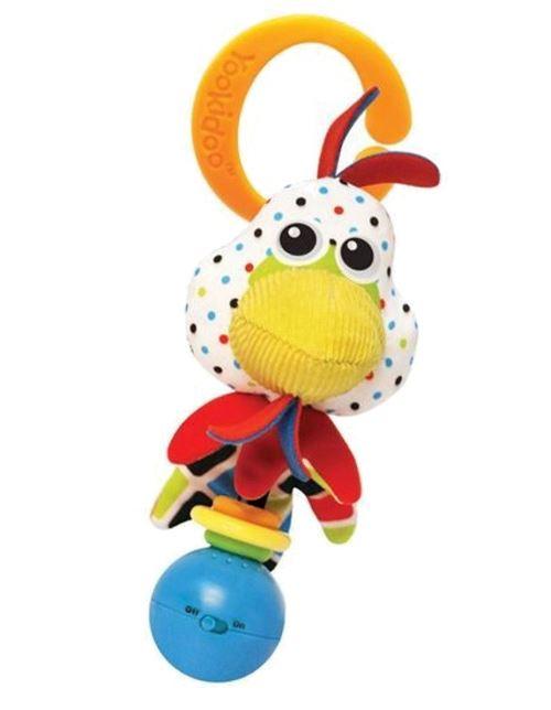Yookidoo hochet Shake Me Rattle Rooster 16 cm en peluche