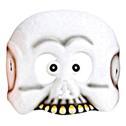 Amscan masque Fantôme junior 18,4 cm blanc taille unique