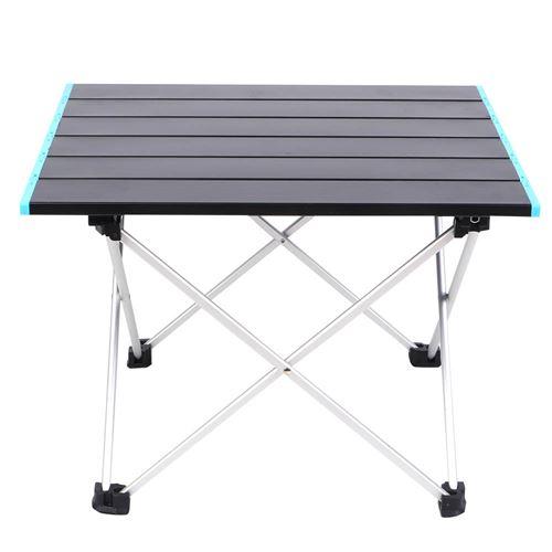 Petite Table de Camping Pliante Portable pour Pique-Nique