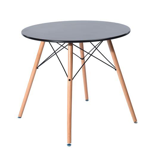 Urban Meuble Table à manger 4 places Blanche MDF Bois