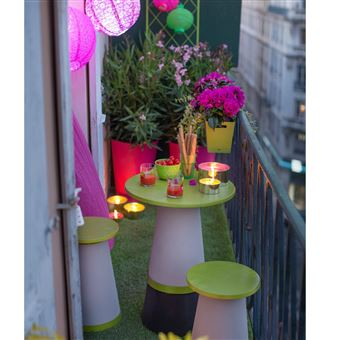 Set de balcon tonus totem design grosfillex - Mobilier de ...