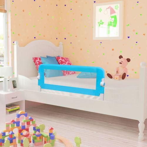 Barrières de lit pour enfants 102 x 42 cm Bleu | Bleu