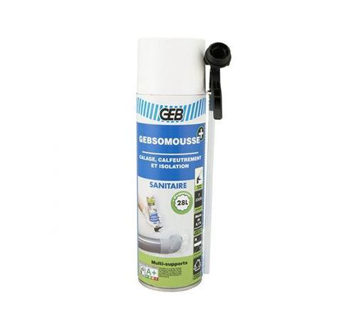 Mousse polyuréthane Gebsomousse - 500ml - Aérosol