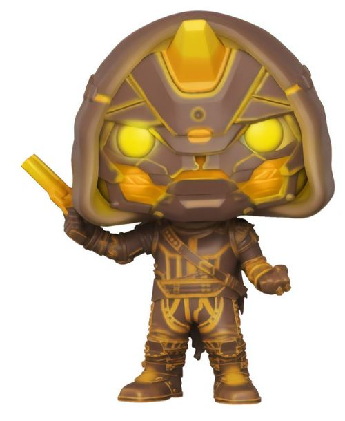 Pop Funko Destiny Cayde-6 with Golden Gun Exclusive Vinyl Figure: Toys & Games