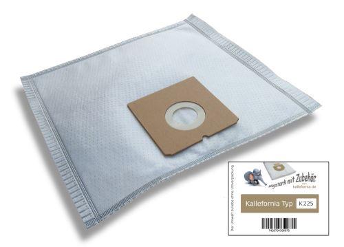 Kallefornia k225 de 20 sacs filtrants pour aspirateurs severin electronic 1300