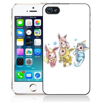 Coque pour iPhone SE pokémon bébé evoli évolution